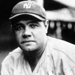 Babe Ruth in New York Yankees Base Cap