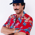 Magnum PI in Detroit Tigers Baseball cap